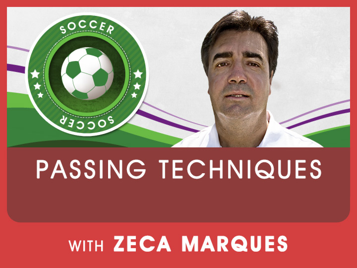 How to pass a ball correctly is a key point in soccer. Zeca shares some great tips and drills to better your passing skills