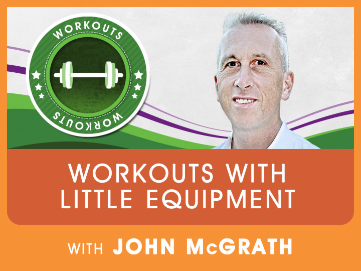Strong Man, John McGrath shares some great exercise techniques to condition your self in becoming a strong athlete.