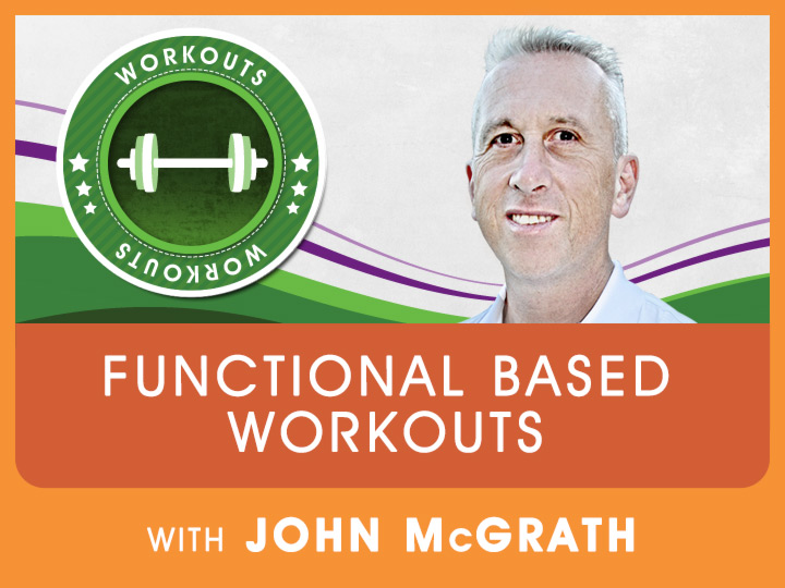 Join Strong man, John McGrath, as he demonstrates functional workouts without going to the gym, back yard workouts.