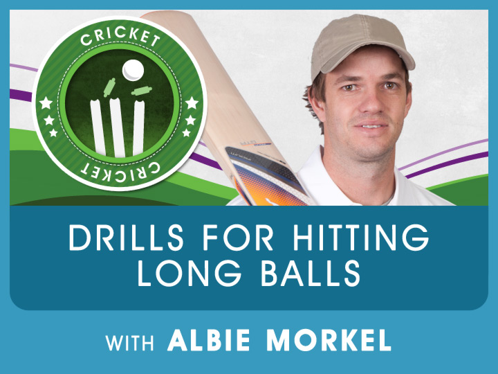 Albie Morkel shares some exciting drills he uses to practice hitting long balls