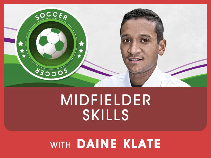 Current midfielder for Orlando Pirates, Daine Klate shares exciting drills & techniques to improve your soccer skills