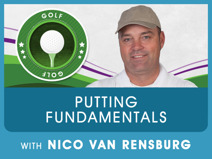 Now we got the ball on the green, Nico explain great techniques to help with your confidance to get the ball in the hole