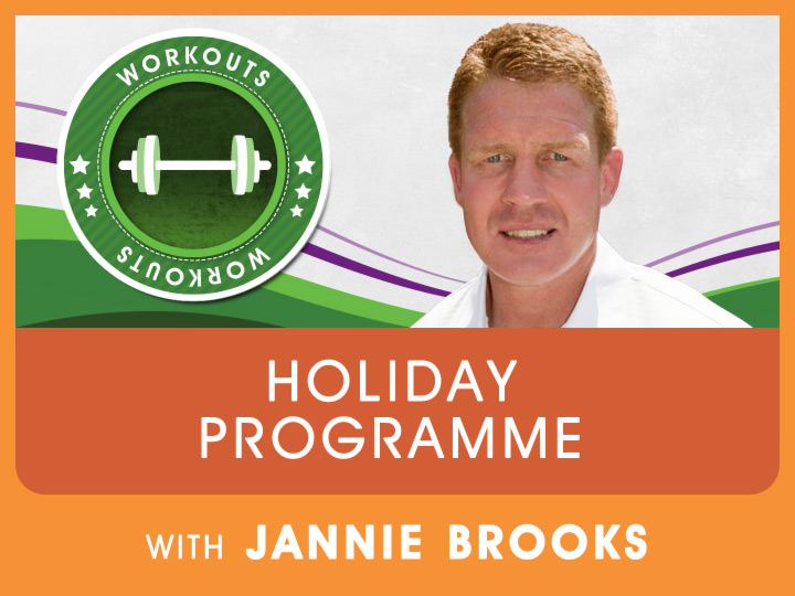 Jannie Brooks presents this simple yet effective workout for keeping in shape over the festive season